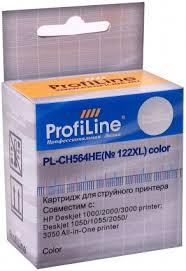 Картридж струйный ProfiLine PL-<b>CH564HE</b> №<b>122XL цветной</b> ...