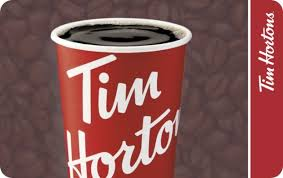 Tim Hortons eGift Card | GiftCards.ca
