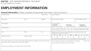 old navy job application printable job employment forms old navy job application printable job employment forms regarding burlington coat factory printable application