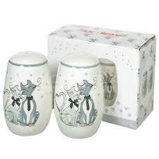 <b>Набор для специй</b> из керамики, 2 предмета, Ля-мур 490-363 ...