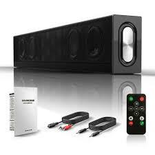 <b>2.1 Channel</b> Home Theater System Bluetooth SoundBar Speaker ...