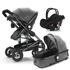 Baby <b>stroller 3</b> in <b>1</b> newborn baby carriage <b>High</b> Landscape <b>stroller</b> ...