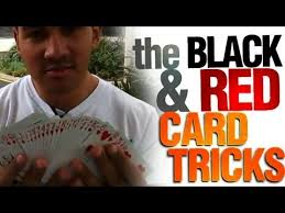 Cool Card Tricks Revealed : The Black And Red Card Tricks : Cool Street Magic Revealed - cool-card-tricks-revealed-the-black-and-red-card-tricks-cool-street-magic-revealed