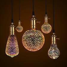 E27 3D LED Ретро Эдисон <b>декоративная лампа накаливания</b> ...