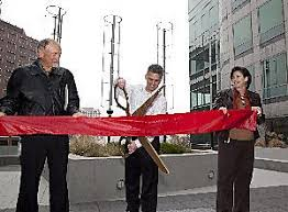 adobe photo of san jose wind turbines ribbon cutting ceremony adobe offices san jose san