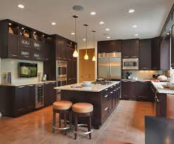 whimsical brown transitional kitchen appliances large