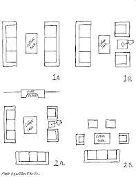 illustration arrange living room furniture