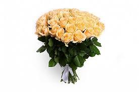 Купить кремовые розы недорого и с доставкой