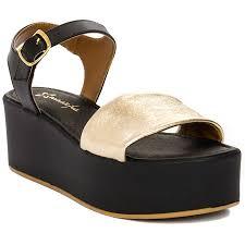 Maciejka IT009-25-00-0 Platin <b>Nero Gold</b> Sandals - Maciejka ...