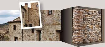 Zoccolo Esterno In Pietra : Geopietra muri e rivestimenti in pietra ricostruita ecologica