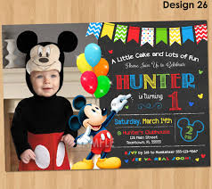 mickey mouse birthday invitations mickey mouse birthday mickey mouse birthday invitations template