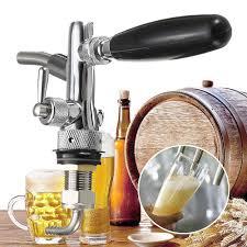 <b>Adjustable Draft Beer Faucet</b> Homebrew Dispenser with Flow ...