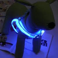 Buy Generic-<b>LED</b> light pet chest <b>strap</b> dog <b>strap</b> flashing pet chest ...