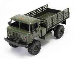<b>Радиоуправляемый</b> военный грузовик WPL <b>Offroad</b> Truck 4WD KIT