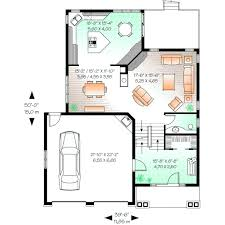 Traditional Style House Plans   Plan   Main Floor Plan