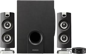 Insignia™ 2.1 Bluetooth Speaker System (<b>3</b>-<b>Piece</b>) <b>Black</b> NS ...