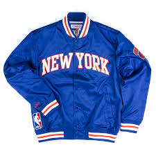<b>Куртка</b> Mitchell & Ness Nba <b>New York</b> Knicks Third Quarter Satin ...