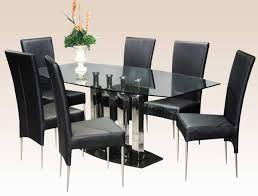 Dining Room Tables Contemporary Modern Glass Dining Table Wood Bases Dining Details Modern Dining