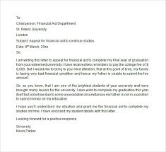 Sample Financial Aid Appeal Letter - 7+ Free Documents Download in ... Financial Aid Appeal Letter Format