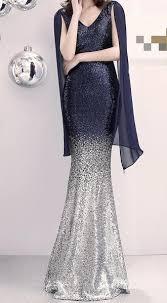 Vestidos Longo Dress Plus Size Long <b>Sequins</b> Dinner Host Pearl ...