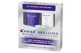 Crest 3D White Brilliance <b>2</b>-<b>Step</b> Toothpaste   Crest