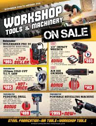 Workshop Tools & Machinery On Sale by itmcatalogues - issuu