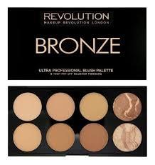 Палетка румян и <b>корректоров</b> Bronze Palette 13г <b>Makeup</b> ...