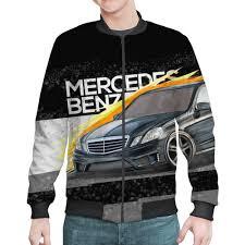 "Бомбер ""<b>Mercedes benz</b> E-class"" #1673414 от vphone - <b>Printio</b>"