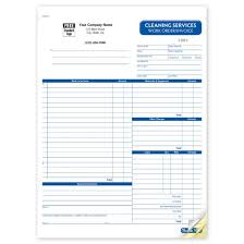 work invoices cleaning work order invoice forms rhs6527 at print ez work invoices 4028