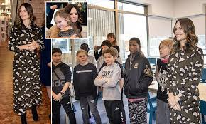 <b>Princess Sofia</b> of Sweden looks stylish in khaki dress during ...