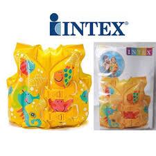 Intex <b>Swim</b> Vest Inflatable <b>Float Kid</b> Life Jacket For Age <b>3 to</b> 6 Years ...
