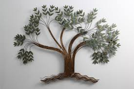 tree scene metal wall art: wall art designs top tree sculpture wall art shimmer trees art