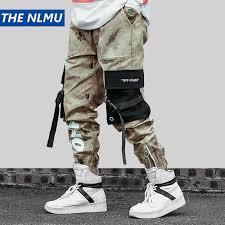 Hip Hip <b>Streetwear Men's</b> Camouflage Joggers <b>Pants</b> 2019 <b>Men</b> ...