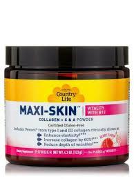 <b>Maxi</b>-<b>skin</b> Vitality With B12 Country Life 4.3 Oz (123 G) Powder for ...