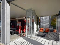 la cantina doors patio contemporary with accordion door aluminum arm bi fold doors home office