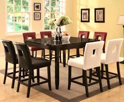 dining room pub style sets: furniturecharming dining room set dinette pub table style chairs drffpubdinette and black diy with