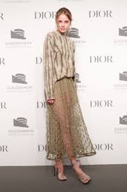 The American actress #MakenzieLeigh wears a #Dior Spring ...