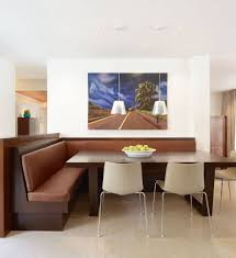 beautiful artwork wall decor idea with awesome breakfast nook bench plus white chairs breakfast nook furniture set