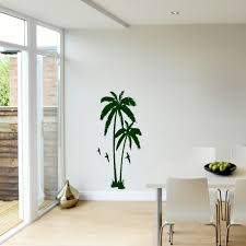 palm tree wall stickers: huge palm tree hall bedroom wall art mural giant graphic sticker matt vinyl wallpaper wall decals in wall stickers from home amp garden on aliexpresscom