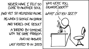 Wisdom of the Ancients - xkcd