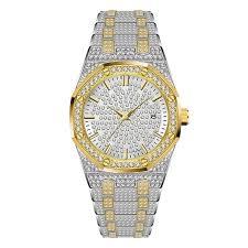 <b>Women Watches</b> Luxury 18K Gold <b>Watch Fashion</b> Calender <b>Lady</b> ...