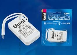 Купить UPB-1000W-SL <b>Блок защиты</b> для галогенных ламп ...