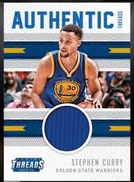 stephen curry golden state warriors jersey relic authentic stephen curry golden state warriors jersey relic authentic threads card card panini dunk