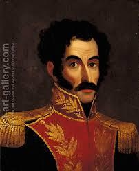 Anonymous Artist:Retrato de Simon Bolivar - Retrato-De-Simon-Bolivar