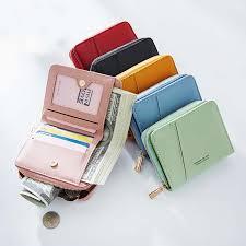 <b>simple</b> new ladies small <b>wallet</b> Korean <b>casual</b> candy color card ...