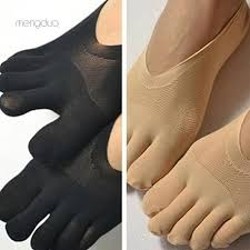 ▷Meng◁<b>1Pair Women's</b> Ultrathin Invisible No Show Anti-Slip ...