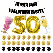 """35Pcs 30 40 50th Adult Birthday Party Decorations 40"""" Foil Number ..."""