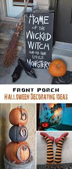 ideas outdoor halloween pinterest decorations: outdoor halloween decor ideas use simple household items to create spooky front porch decor