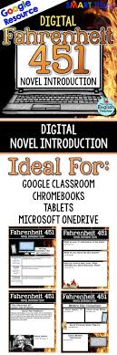 ideas about fahrenheit ray bradbury books google drive fahrenheit 451 digital novel introduction smarteplans high school english american literature