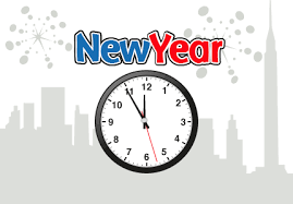 Countdown to New Year 2018 in New York